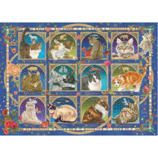 Jumbo PZ1000 Cat Horoscope