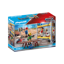 Playmobil Workers with Scaffolding 70446