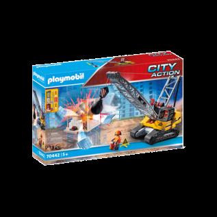 Playmobil Dragline avec section de mur 70442