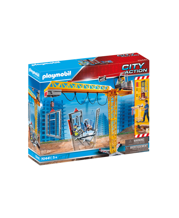 RC Crane with Building Section 70441