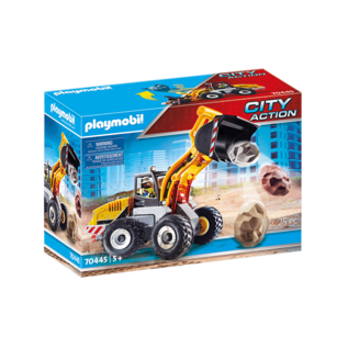 Playmobil Chargeuse sur pneus 70445