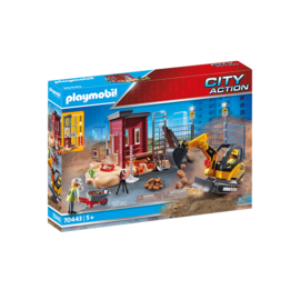 Playmobil Mini-pelle et chantier 70443