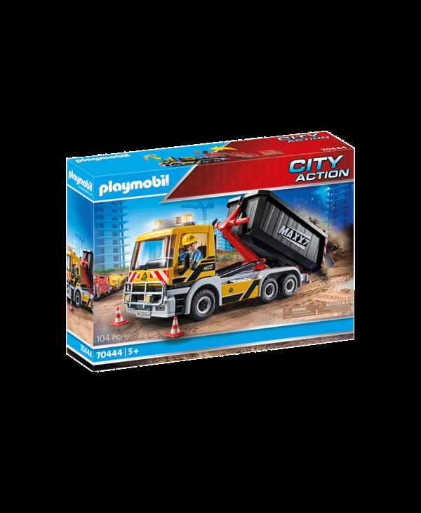 Camion avec benne et plateforme interchangeables 70444