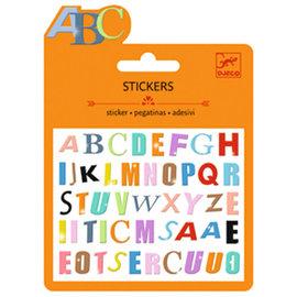 DJECO Stickers Lettres Colorées