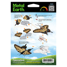 Fascinations Metal Earth Tiger Swallowtail