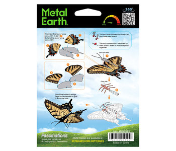 Metal Earth Tiger Swallowtail