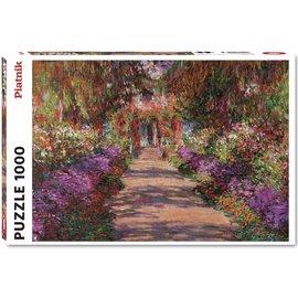 Piatnik PZ1000 L'Allée dans le jardin, Monet