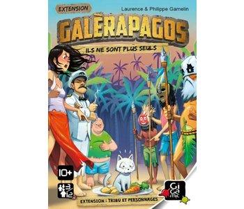 Galerapagos - Tribu et pseronnages