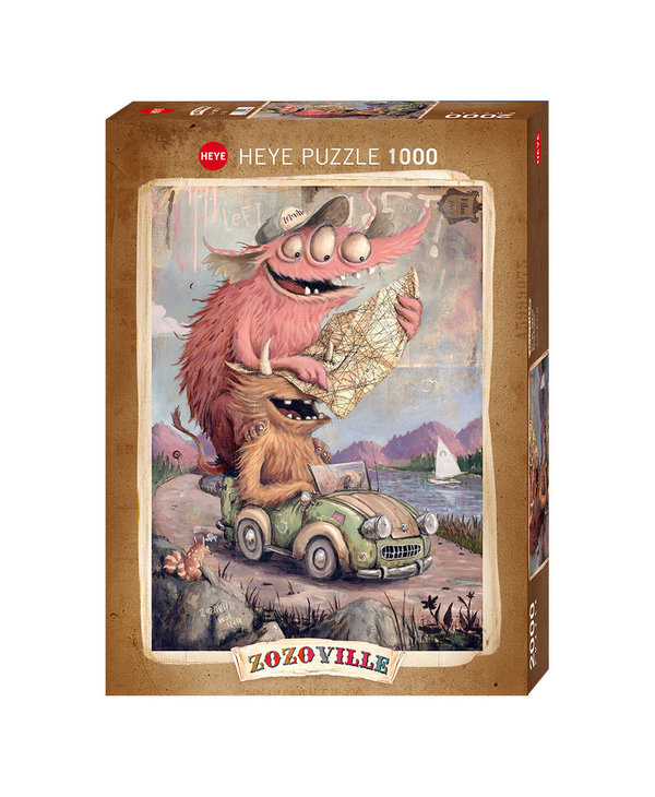 PZ1000 Road tripping Zozoville
