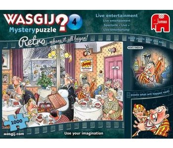PZ1000 Wasgij Mystery Retro 4