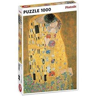Piatnik PZ1000 Le baiser, Klimt - Feuille d'or
