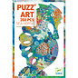 DJECO PZ350 Puzz'art Sea Horse