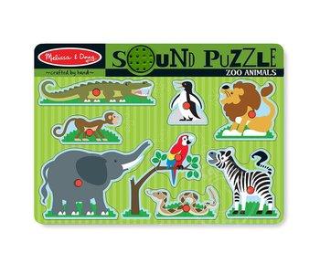 Zoo Animals Sound Puzzle