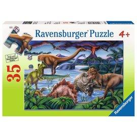 PZ35 Jardin de dinosaures