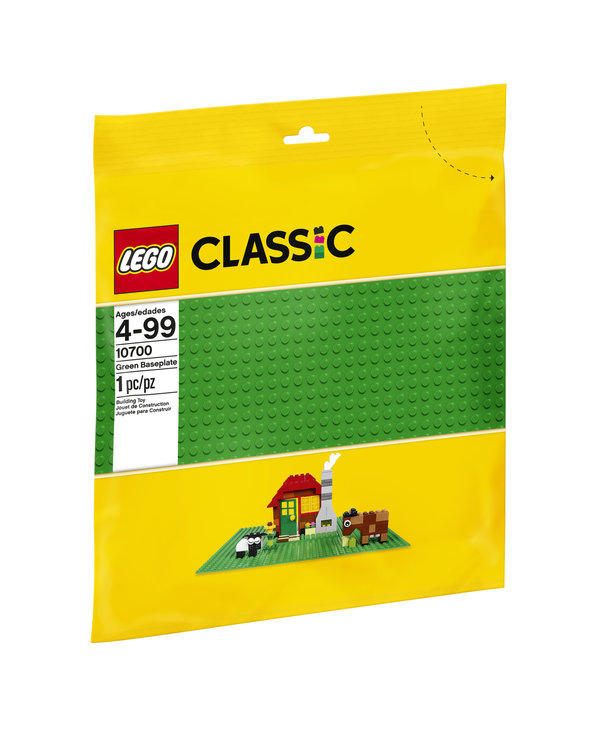 LEGO Classic 10700 Plaque de base verte
