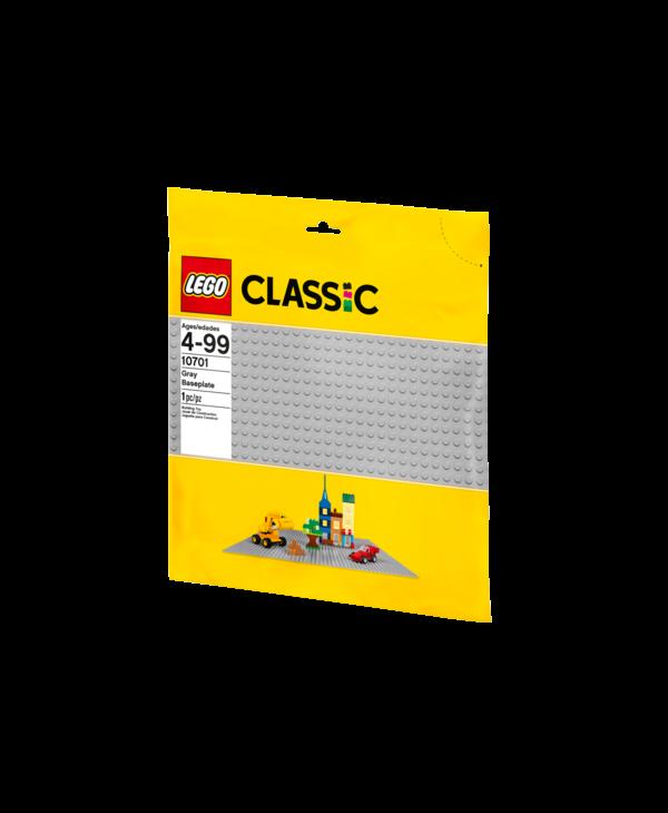LEGO Classic 10701 Plaque de base grise