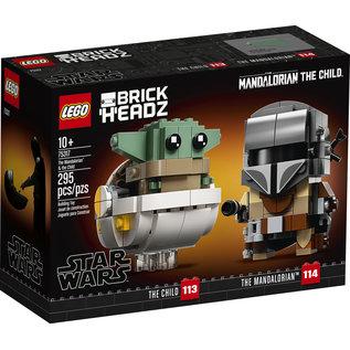 Lego Lego BrickHeadz 75317 The Mandalorian & The Child