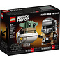 Lego Lego BrickHeadz 75317 Le Mandalorien et L'Enfant