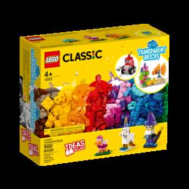 Lego Lego Classic 11013 Briques transparentes créatives