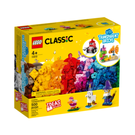 Lego Lego Classic 11013 Creative Transparent Bricks