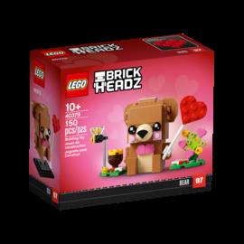 Lego Lego BrickHeadz 40379 L'ours de la Saint-Valentin
