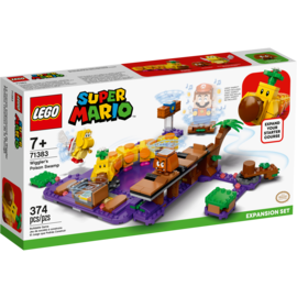 Lego Lego Super Mario 71383 Wiggler's Poison Swamp Expansion Set