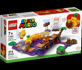 Lego Super Mario 71383 Wiggler's Poison Swamp Expansion Set