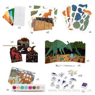 DJECO Activités créatives - Dino box