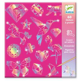 DJECO Cartes à gratter - Diamants