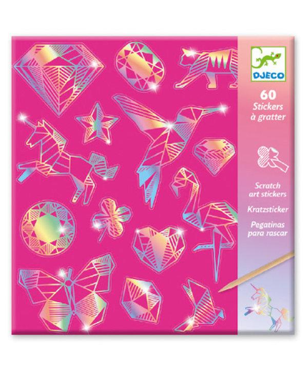 Cartes à gratter - Diamants