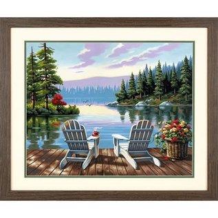 Paintworks Matinée au bord du lac