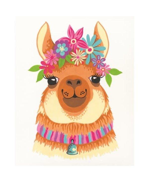 Flowery Lama