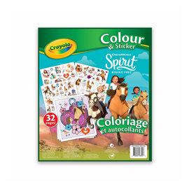 Crayola Coloriage et autocollants Spirit