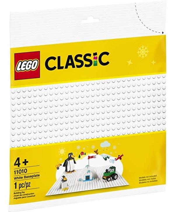 Lego Classic 11010 White baseplate