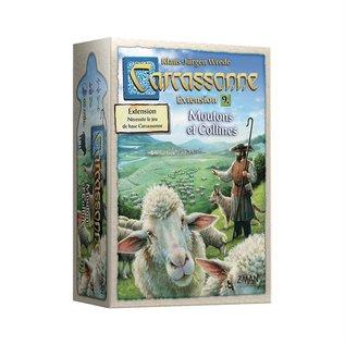 Carcassonne ext 9 - Moutons et collines (FR)