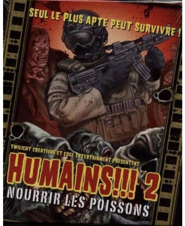 HUMAINS!!! 2 NOURIR LES POISSONS