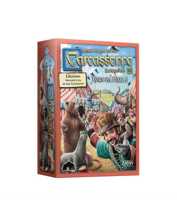Carcassonne ext. 10 - Tous en piste!