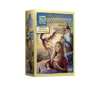 Carcassonne extension 3 - Princesse & Dragon (FR)