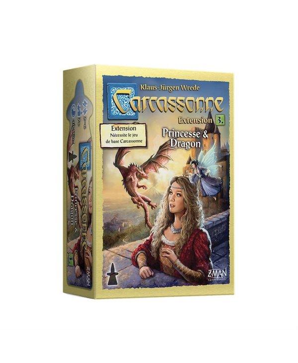 Carcassonne extension 3 - Princesse & Dragon