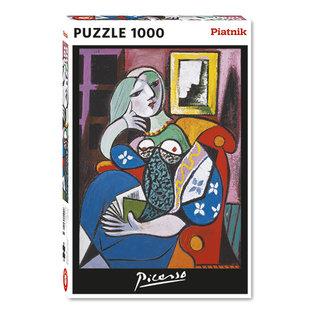 Piatnik PZ1000 Dame avec livre, Picasso