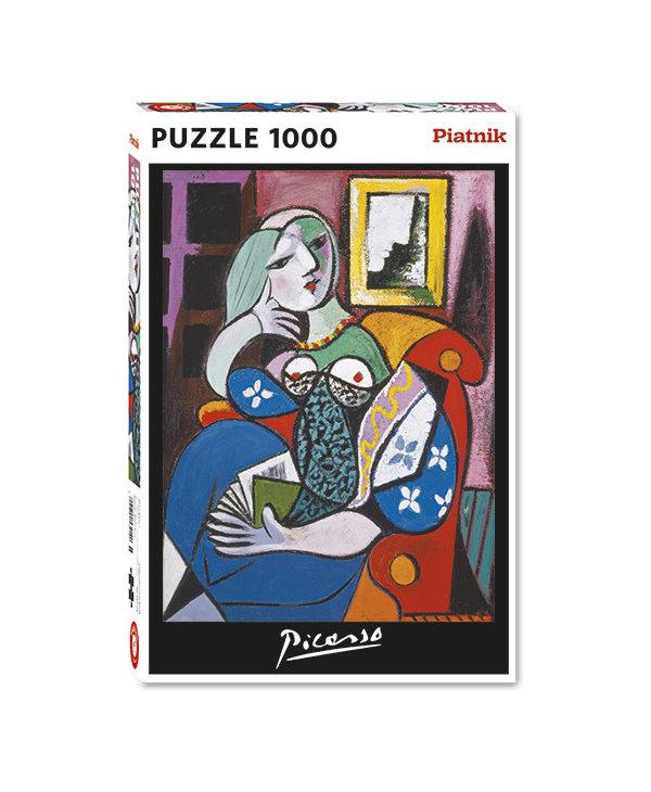 PZ1000 Dame avec livre, Picasso