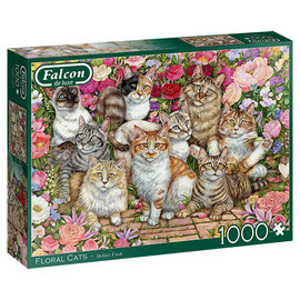 Falcon PZ1000 Floral Cats