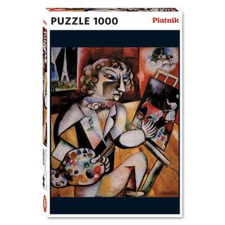 Piatnik PZ1000 L'autoportrait aux sept doigts, Chagall