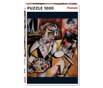 PZ1000 L'autoportrait aux sept doigts, Chagall