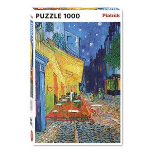 Piatnik PZ1000 Terrasse du Cafe, Van Gogh