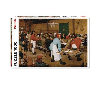 PZ1000 Peasant wedding, Bruegel