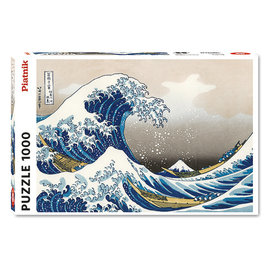 Piatnik PZ1000 The Great Wave, Hokusai