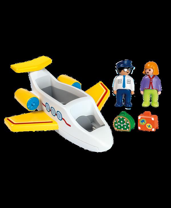 70185 - Avion avec pilote & vacancière 1.2.3