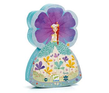 Puzzle silhouette 36 - La princesse de printemps