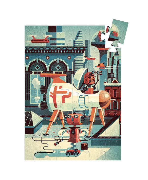 Puzzle Geant - Bob le robot